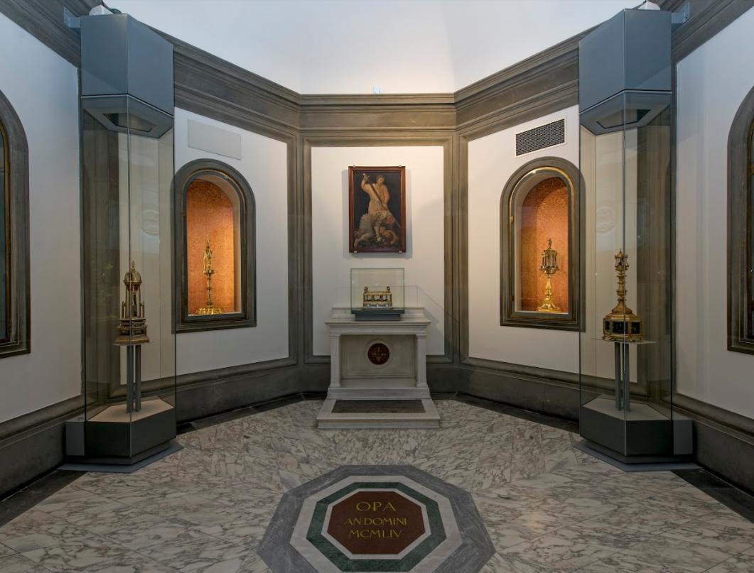 Часовня реликвий музей Дуомо Флоренция