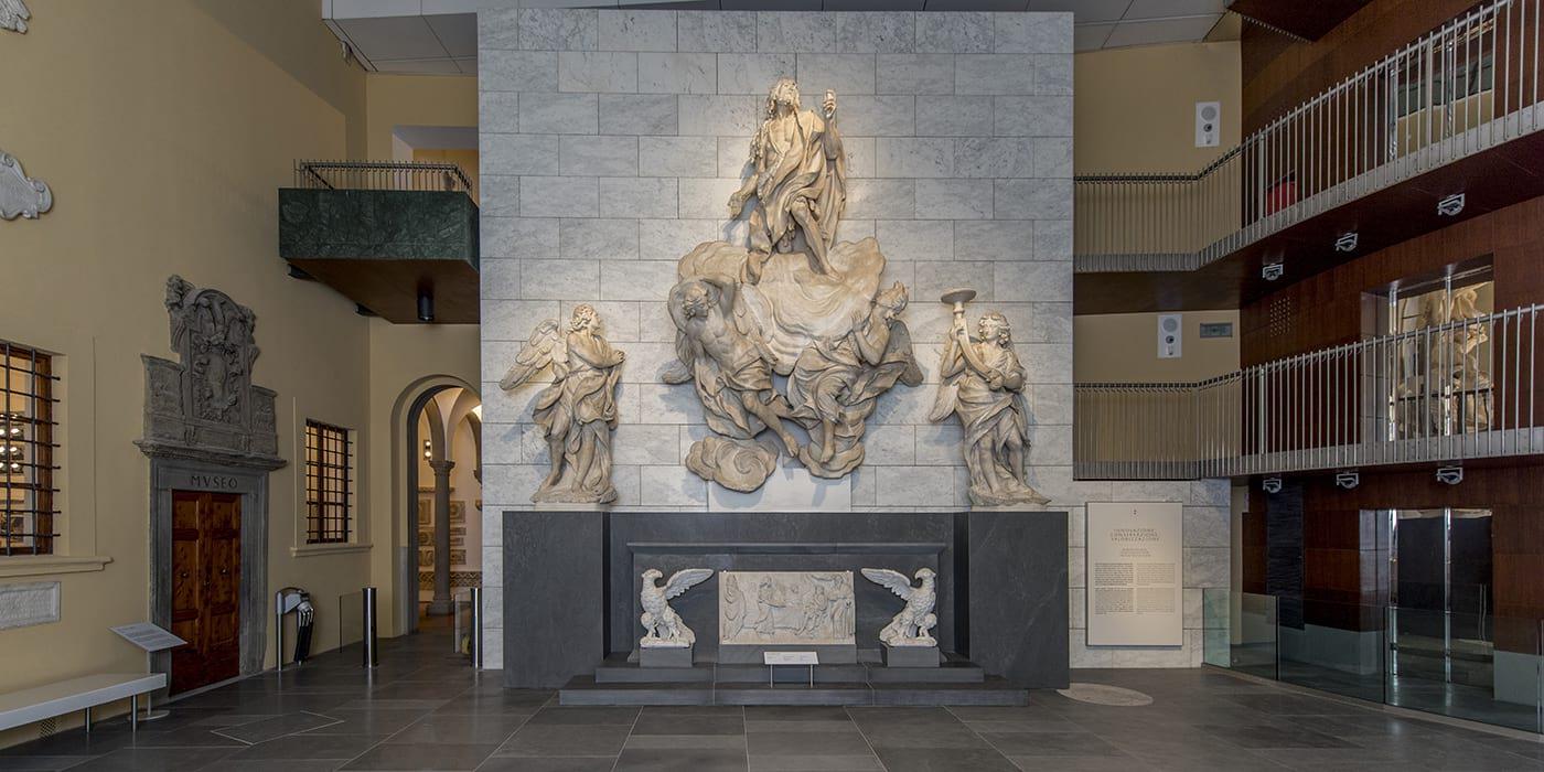 Двор Тиччиати Музей Дуомо Флоренция